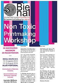 The 8th International Printmaking Biennial of Douro. 2016. Portugal. Augst 10- October 31.  2016 Douro region & Coa Museum.